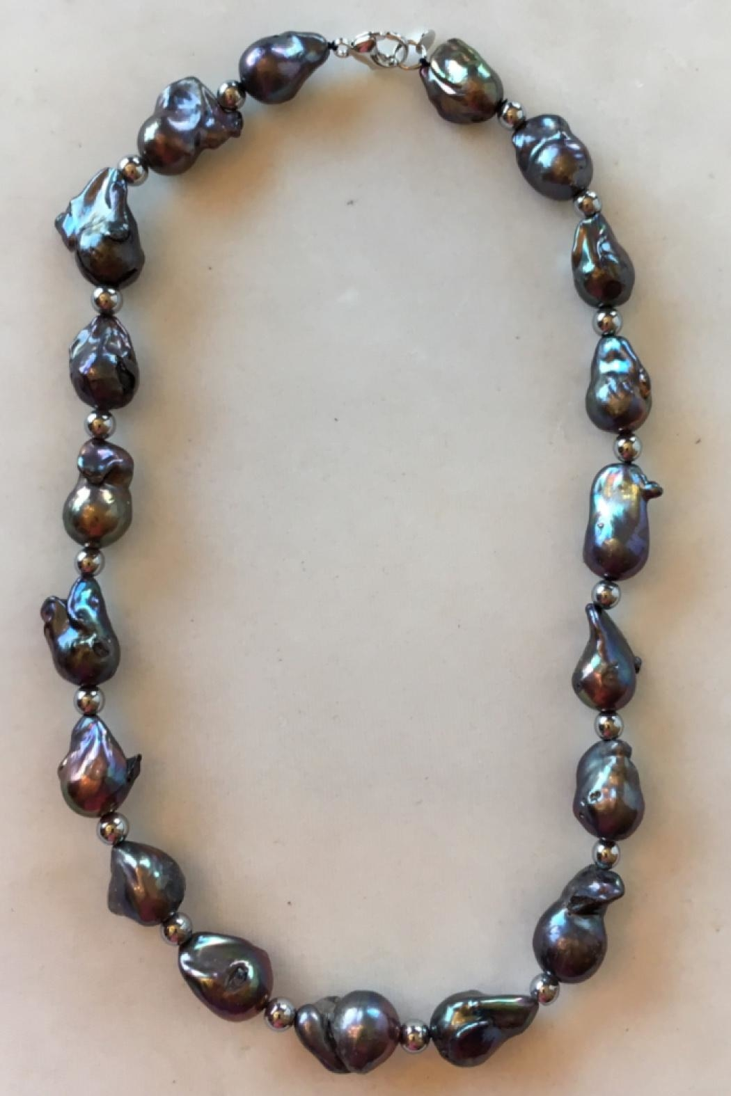 Beth Friedman Baroque Black Pearls - Front Full Image