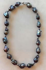 Beth Friedman Baroque Black Pearls - Front full body