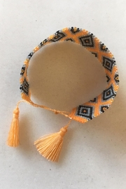 Beth Friedman Beaded Tassel Bracelet - Front full body