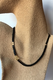 Beth Friedman Black Onyx Heart Necklace - Product Mini Image