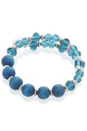 Beth Friedman Blue Crystal Bracelet - Front full body