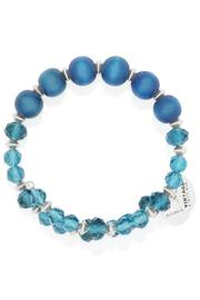 Beth Friedman Blue Crystal Bracelet - Side cropped