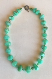 Beth Friedman Chrysoprase Necklace - Product Mini Image