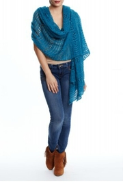 Beth Friedman Cozy Featherweight Shawl - Product Mini Image
