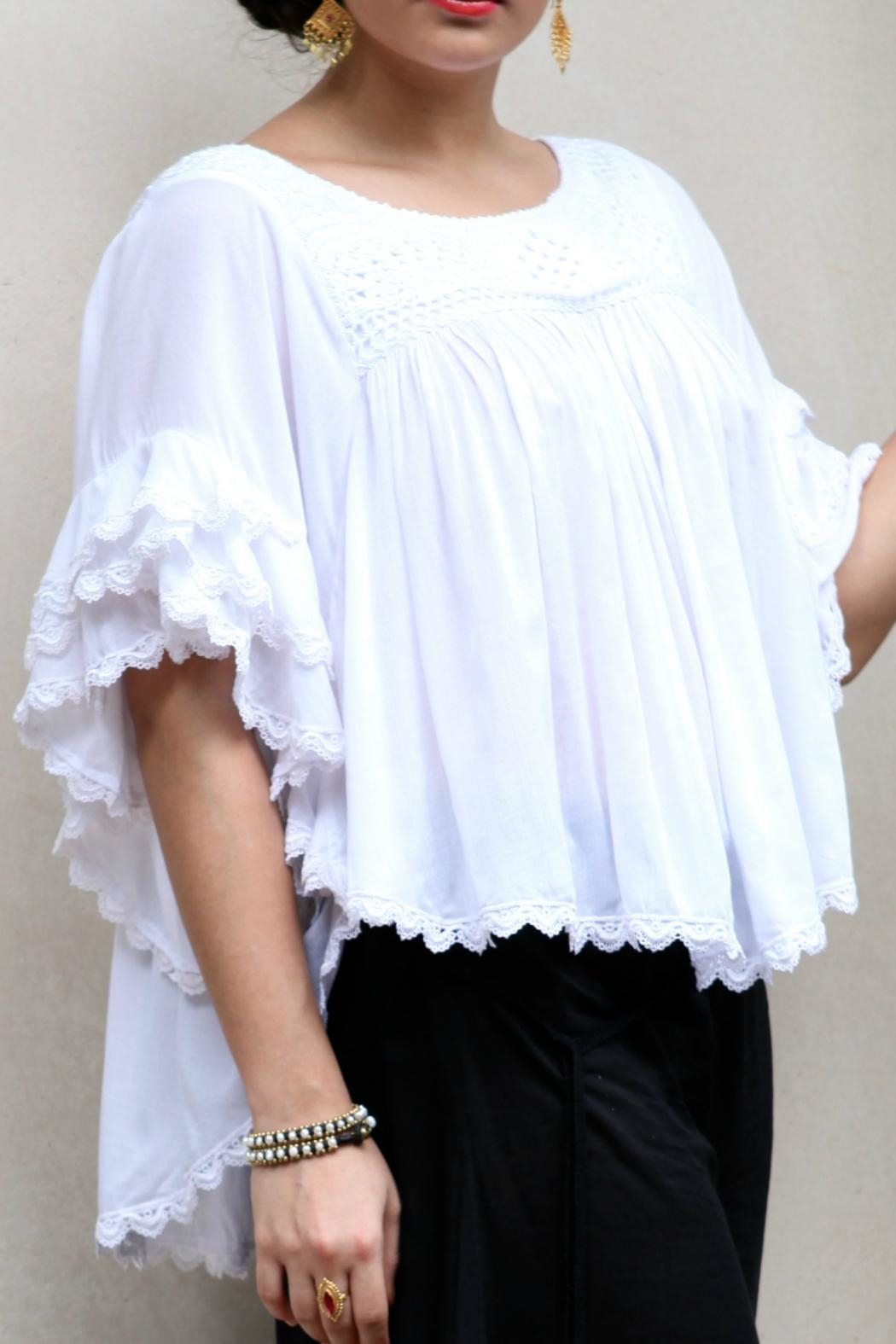 Beth Friedman Embroidered Top - Main Image