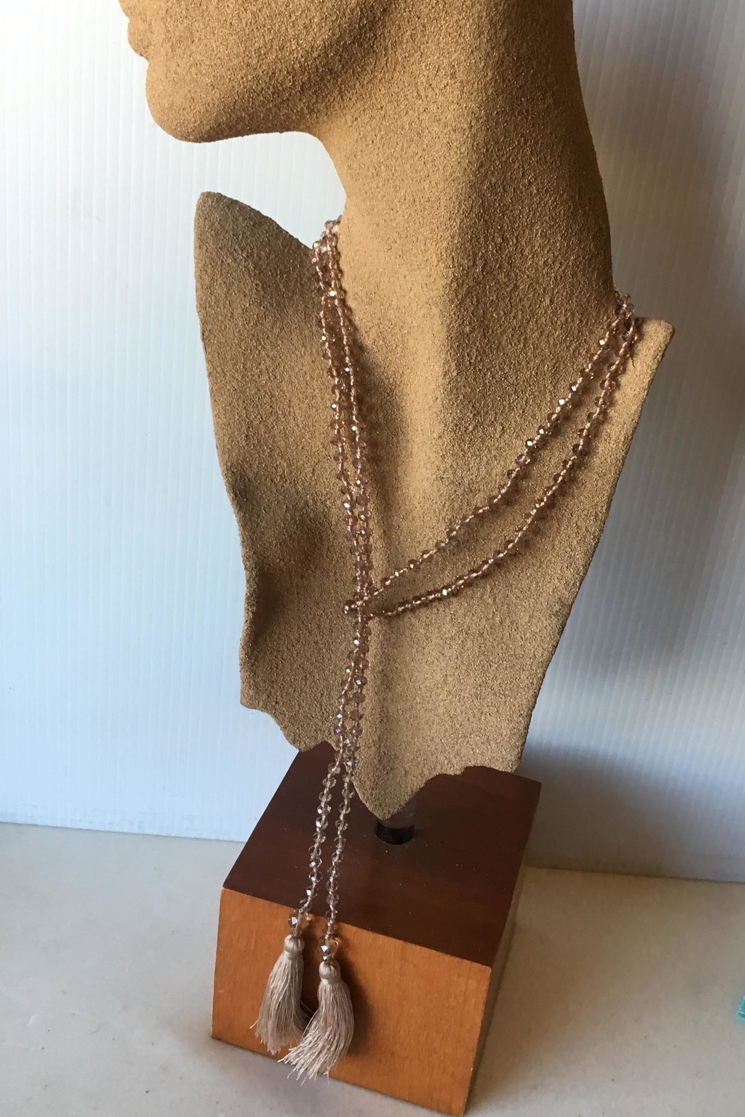 Beth Friedman Faceted Crystal Necklace - Front Full Image