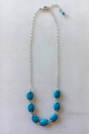 Beth Friedman Faux Turquoise Necklace - Front cropped