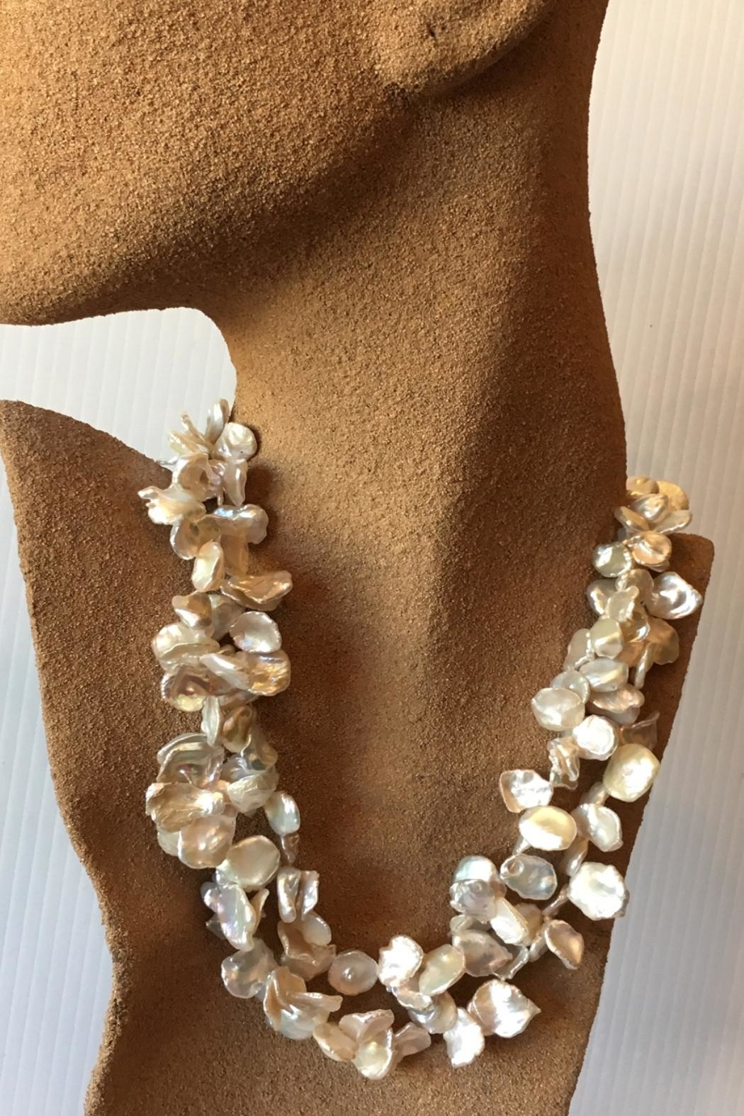 Beth Friedman Natural Pearl Necklace - Side Cropped Image