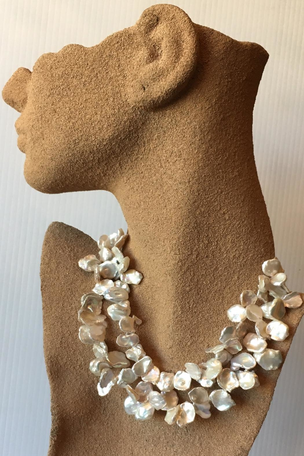 Beth Friedman Natural Pearl Necklace - Front Full Image