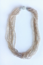 Beth Friedman Gold Faceted Bead Multistrand Necklace - Product Mini Image
