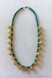 Beth Friedman Golden Agate Turquoise Necklace - Product Mini Image