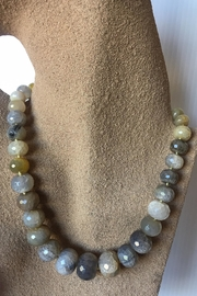 Beth Friedman Gray Agate Necklace - Product Mini Image