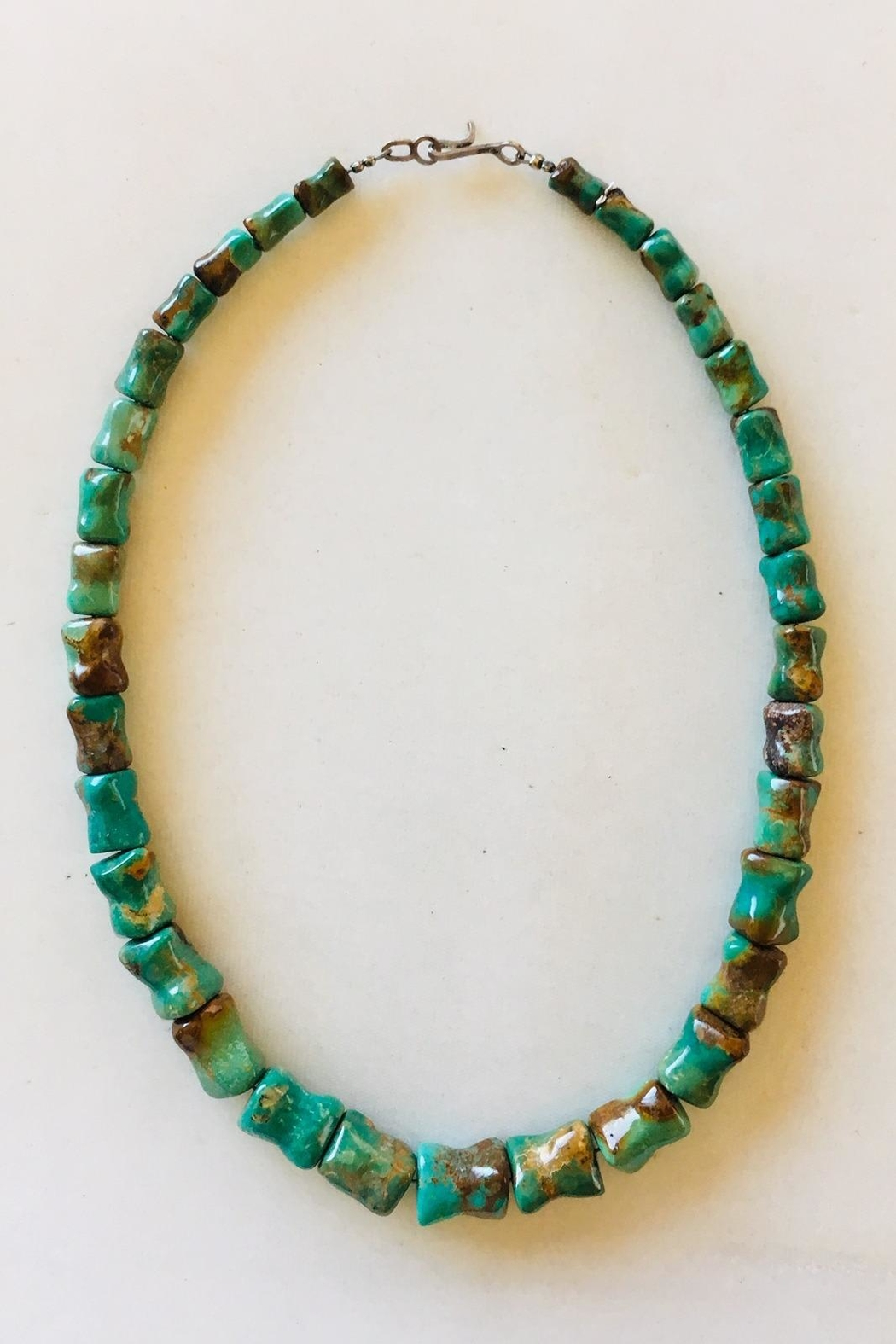 Beth Friedman Green Turquoise Necklace - Main Image