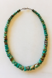 Beth Friedman Green Turquoise Necklace - Front cropped