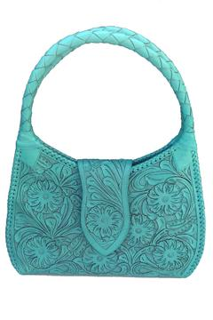 Shoptiques Product: Handtooled Leather Tote