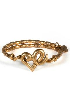 Shoptiques Product: Heart Bracelet