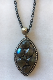 Beth Friedman Labradorite Topaz Necklace - Product Mini Image