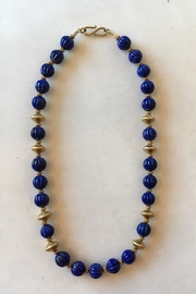 Beth Friedman Lapis Gold Necklace - Product Mini Image