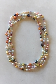 Beth Friedman Multicolor Freshwater Pearls - Front cropped