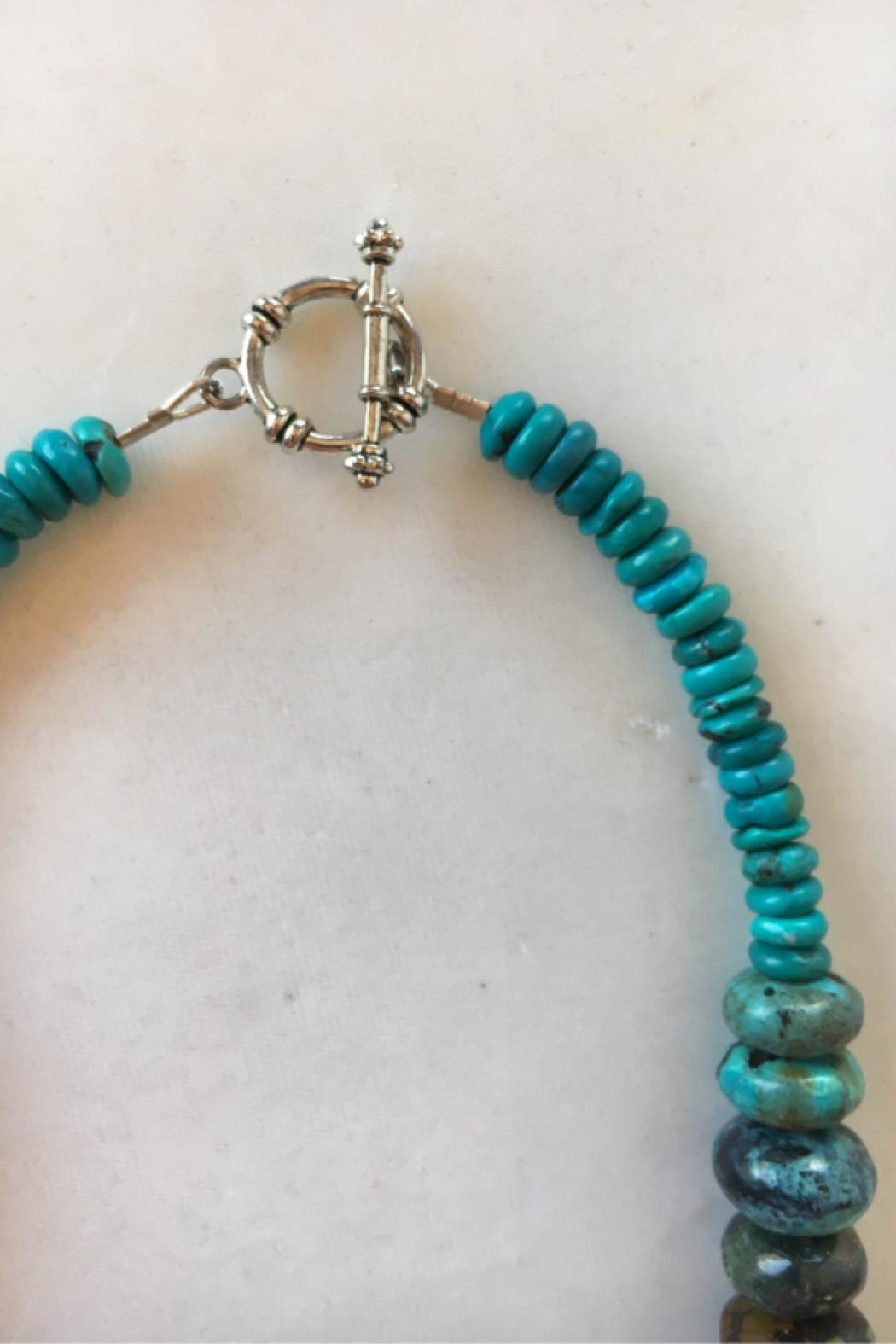 Beth Friedman Multicolor Turquoise Necklace - Side Cropped Image