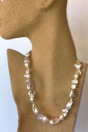 Beth Friedman Natural Baroque Pearls - Front full body