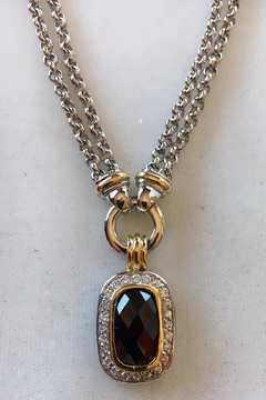 Beth Friedman Onyx Sterling Silver Necklace - Product List Image