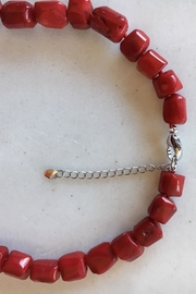 Beth Friedman Red Coral Necklace - Side cropped