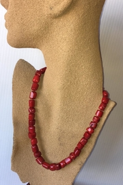 Beth Friedman Red Coral Necklace - Product Mini Image
