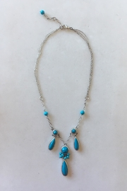 Beth Friedman Romantic Turquoise Neckpiece - Product Mini Image