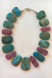 Beth Friedman Rubellite Opal Necklace - Product Mini Image