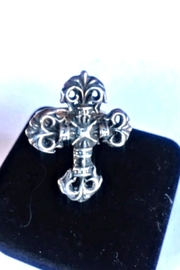 Beth Friedman Sterling Silver Cross Ring - Product Mini Image