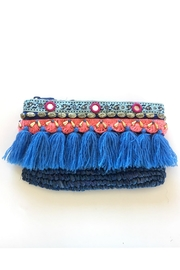 Beth Friedman Straw Embroidered Clutch - Product Mini Image