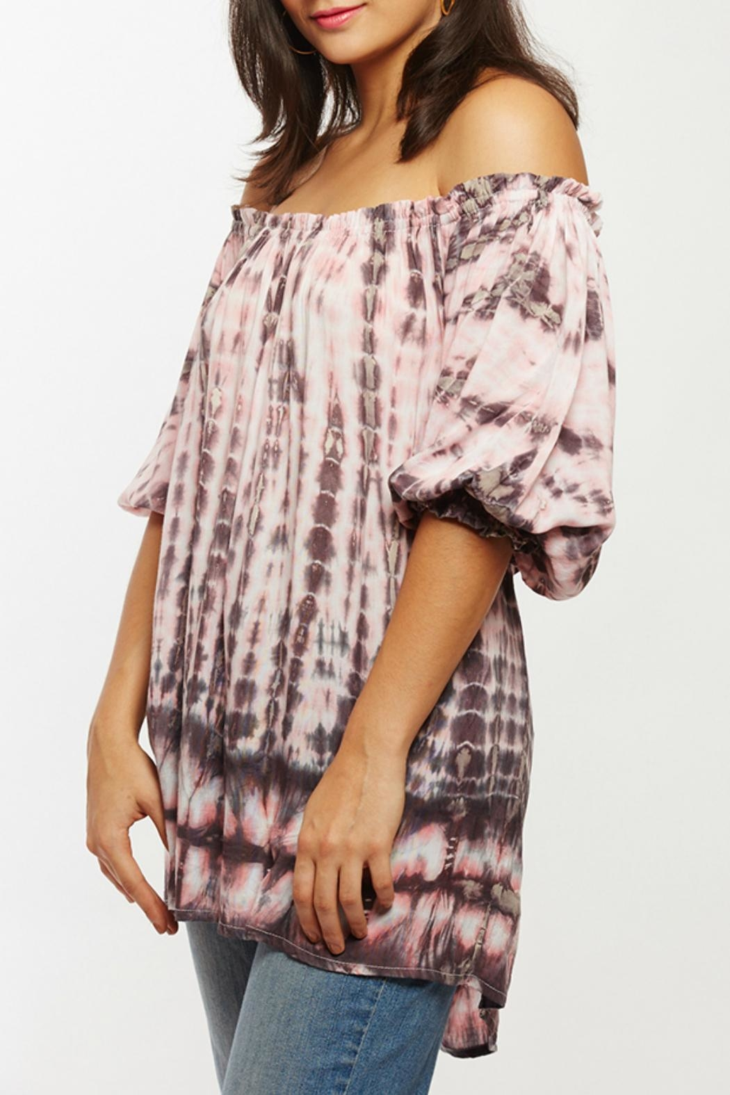Beth Friedman Tie Dye Tunic - Front Cropped Image