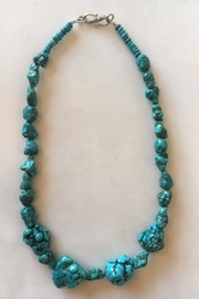 Beth Friedman Turquoise Nugget Necklace - Product Mini Image