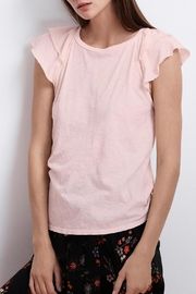 Velvet Bethanie Cotton Slub-Tee - Product Mini Image