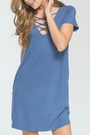 Cherish Bethany Pocketed Dress - Product Mini Image