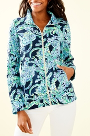 Lilly Pulitzer Betsey Zip-Up Popover - Product Mini Image