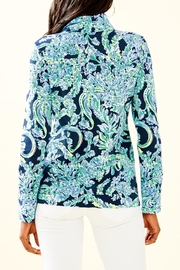 Lilly Pulitzer Betsey Zip-Up Popover - Front full body