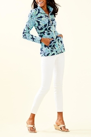 Lilly Pulitzer Betsey Zip-Up Popover - Side cropped
