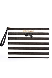 Betsey Johnson Sticky Situation Wristlet - Front cropped
