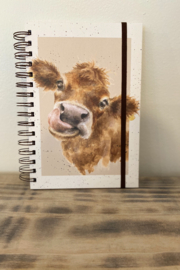 Wrendale Designs Betsy the cow journal - Product Mini Image