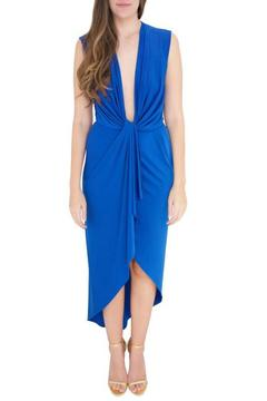 Betsy Moss Blue Chelsie Dress - Product List Image