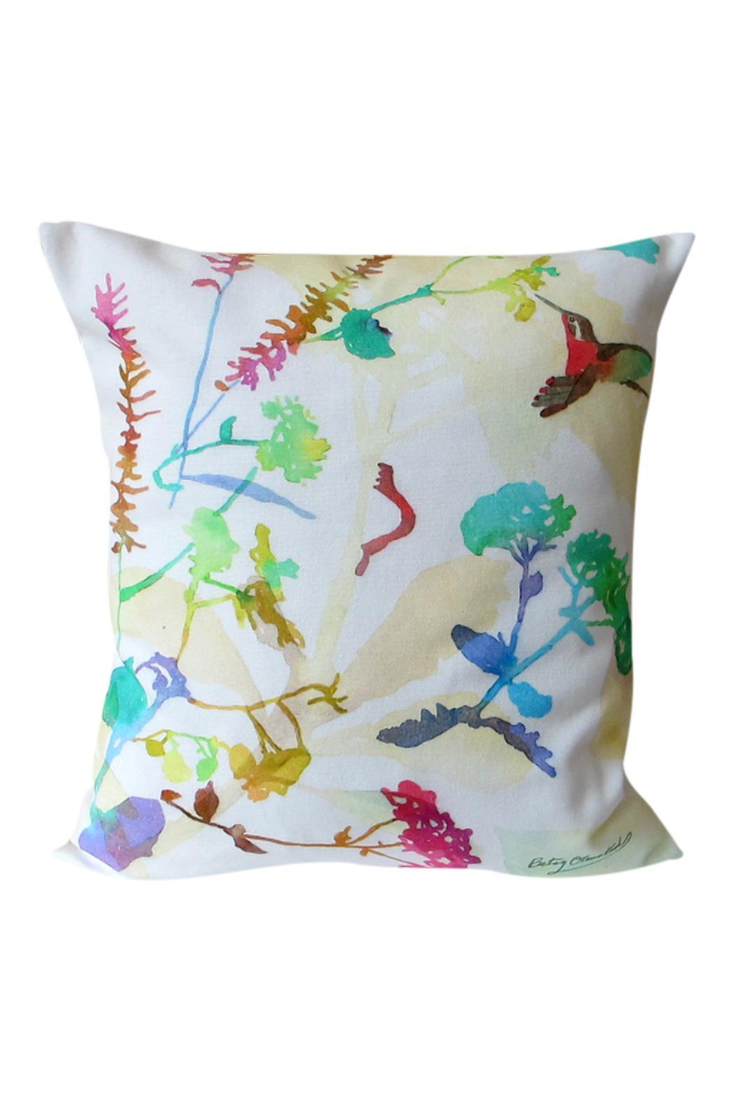 Betsy Olmsted Hummingbird Pillow - Main Image