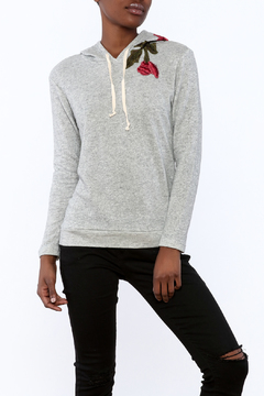 Shoptiques Product: Embroidered Hoodie