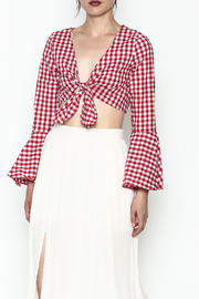 Better Be Gingham Top - Product Mini Image