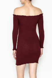 Better Be Long Sleeve Dress - Back cropped