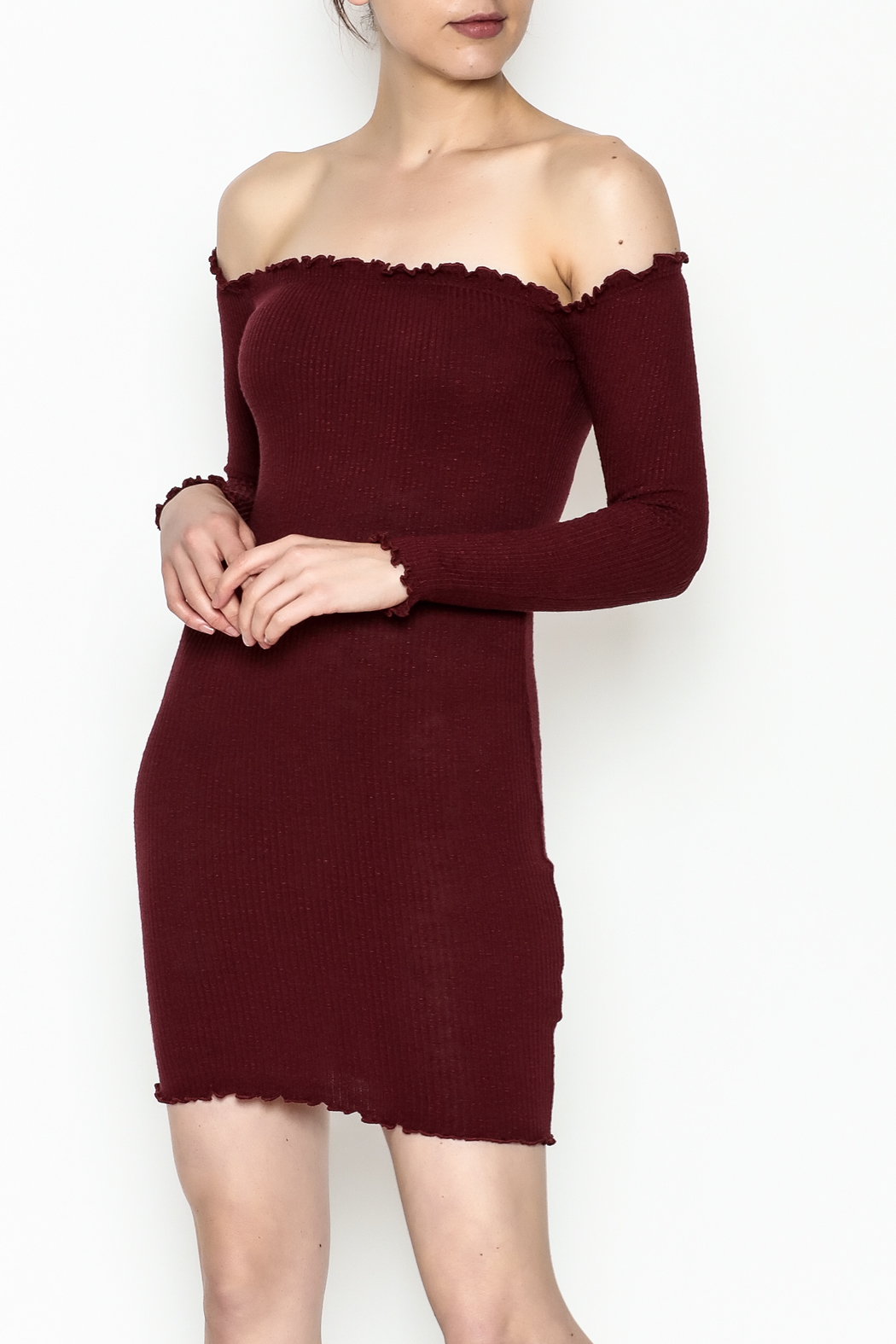 Better Be Long Sleeve Dress - Main Image