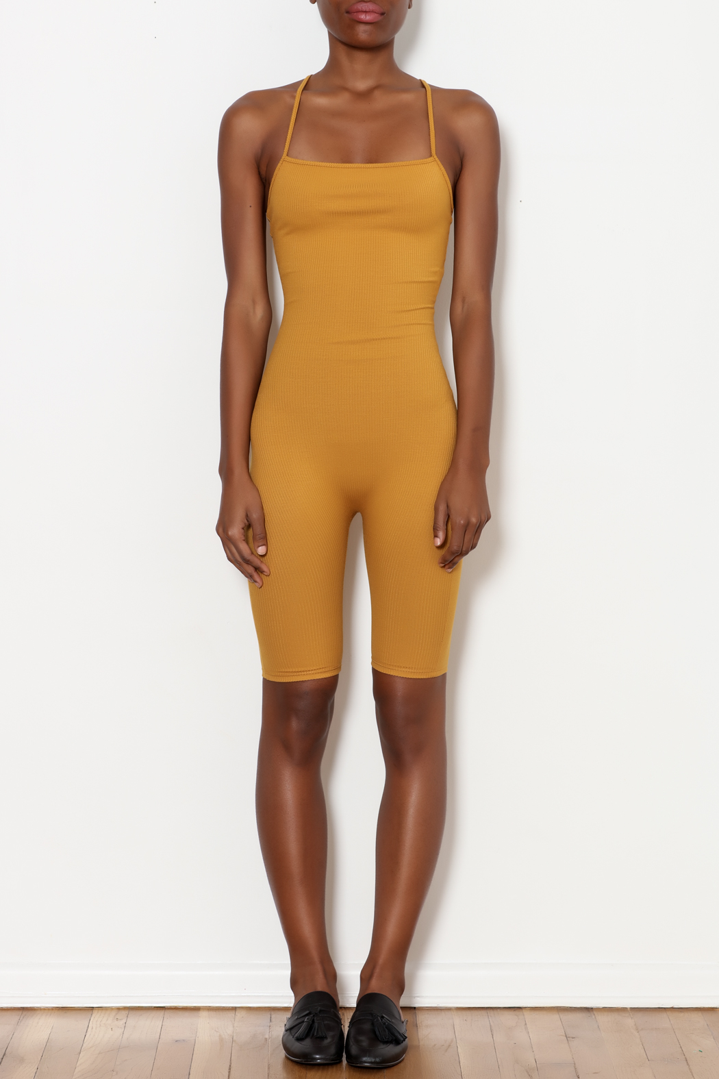 7bddf5263b6ef Better Be Ribbed Tight Romper from New York by Dor L Dor — Shoptiques