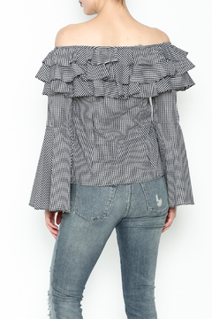 Better Be Ruffle Bell Sleeve Top - Alternate List Image