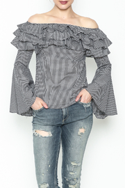 Better Be Ruffle Bell Sleeve Top - Product Mini Image